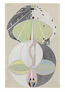 Hilma af Klint, Tree of Knowledge no 5, 1913-15