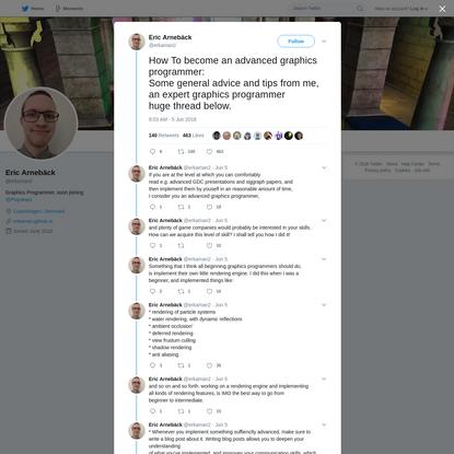 Eric Arnebäck on Twitter