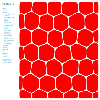 Paper.js - Voronoi