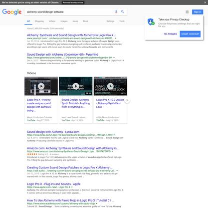 alchemy sound design software - Google Search