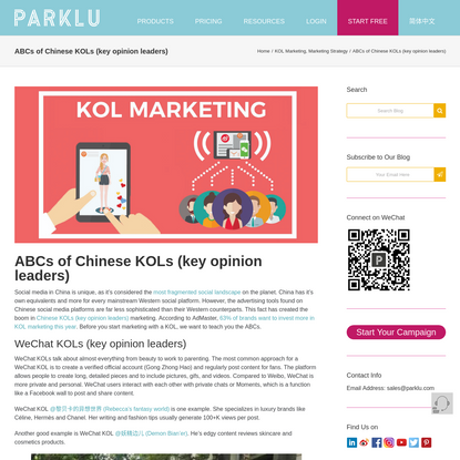 ABCs of Chinese KOLs (key opinion leaders)