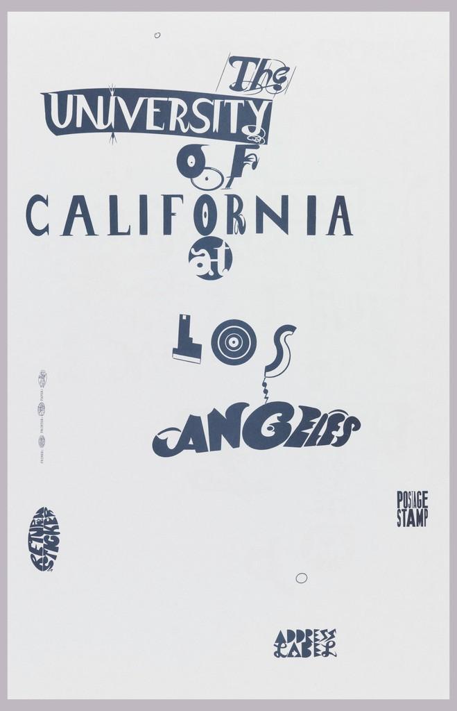 Edward Fella, University of California Los Angeles (1997)