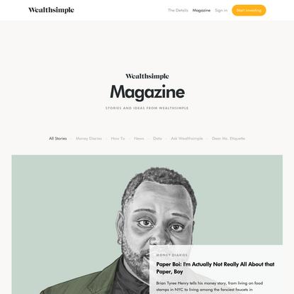 Magazine | Wealthsimple
