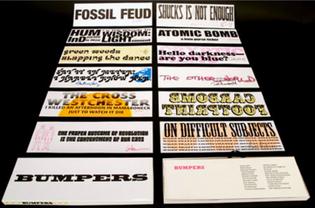 Cuneiform Press, Bumpers (2011)