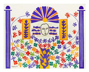Henri Matisse - Apollon, 1953
