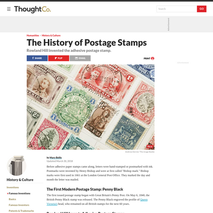 Where Did Postage Stamps Come From?