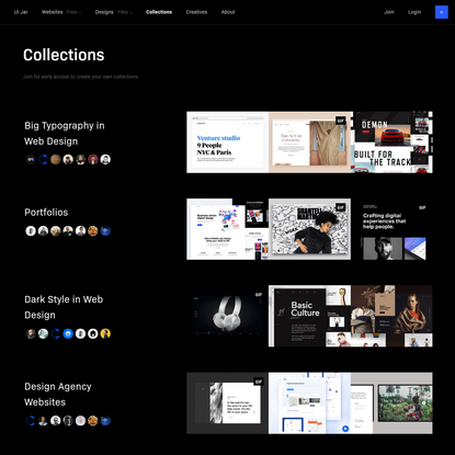 UIJar | Handpicked design inspiration for your real life projects