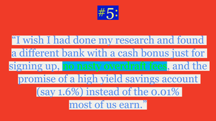 """Thing #5 from Ally-Jane Grossan's """"Five Financial Things I Wish I'd Done at Age 21"""""""