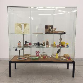 Martin Kippenberger, Egg Showcase, 1997