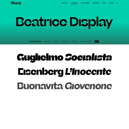 Beatrice Display