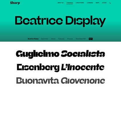 Beatrice Display