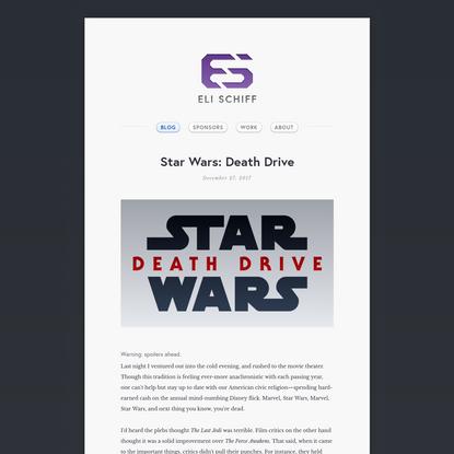 Star Wars: Death Drive