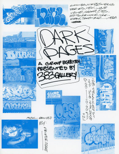 Phil Gibson —Dark Pages Flyer