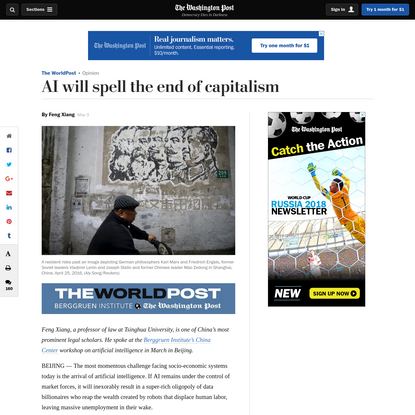 Opinion | AI will spell the end of capitalism