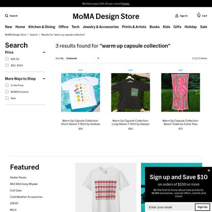 Search Results | MoMA Design Store