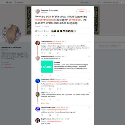 Barefoot Economist on Twitter