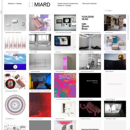 MIARD / Research + Design