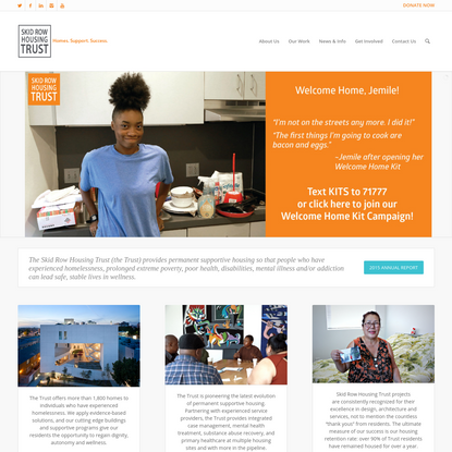 Skid Row Housing Trust | Homes. Support. Success