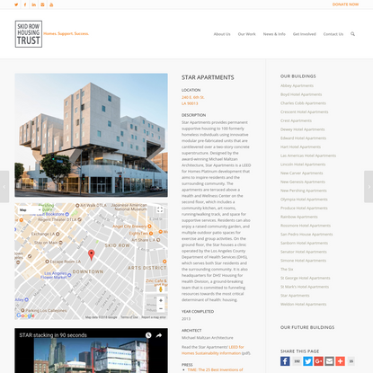 Star Apartments - Skid Row Housing Trust