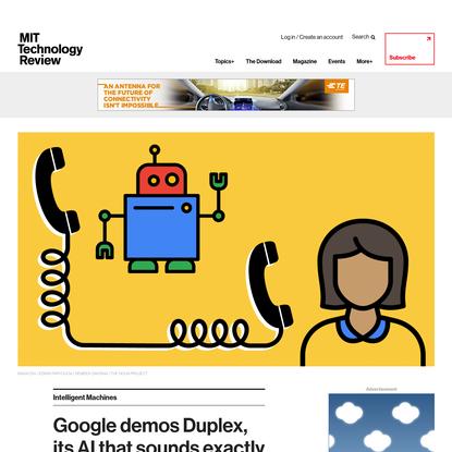 Google demos Duplex, its AI that sounds exactly like a very weird, nice human