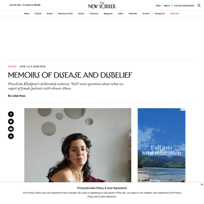Memoirs of Disease and Disbelief
