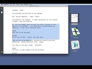 How to convert a PDF to Final Draft (with Highland)
