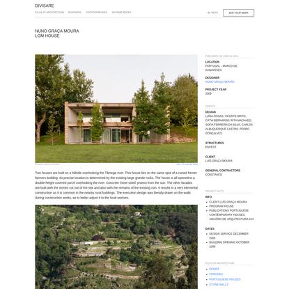 Nuno Graça Moura · LGM House