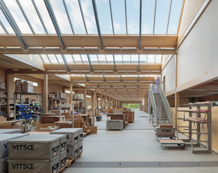 Vitsoe Headquarters (designed by Vitsoe and Martin Francis, 2017)