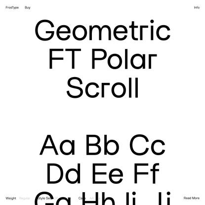 FrosType - FT Polar