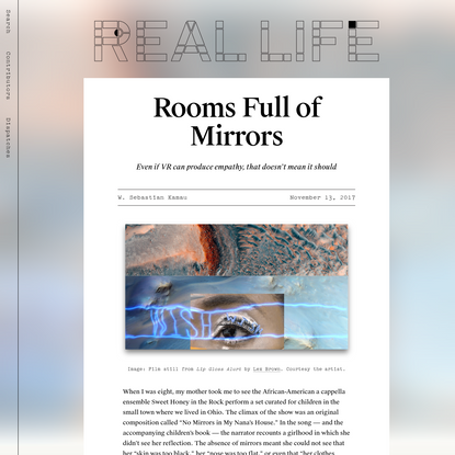 Rooms Full of Mirrors - Real Life