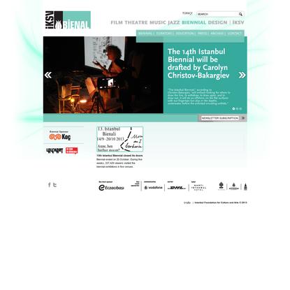 İKSV Bienal | Home
