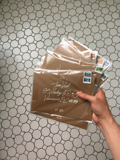Store launch gifting letters