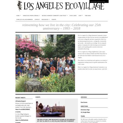 Los Angeles Eco-Village