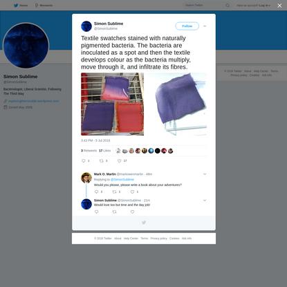 Simon Sublime on Twitter
