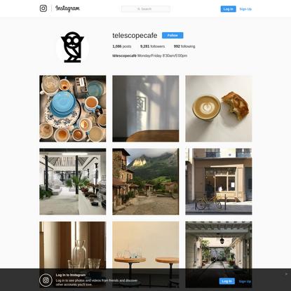 télescopecafé (@telescopecafe) * Instagram photos and videos