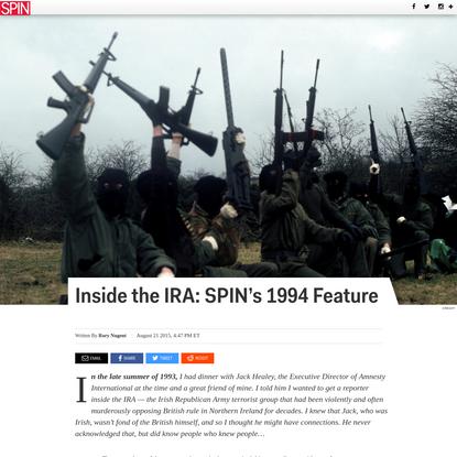 Inside the IRA: