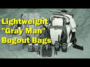 """Best """"Gray Man"""" Bugout Bags for Two (and why they include SCUBA gear ?!!)"""