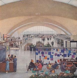 Harry Bertoia's Airport Screen in St. Louis