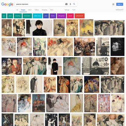 jeanne mammen - Google Search