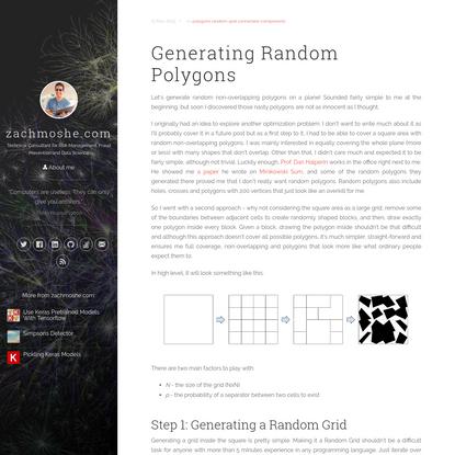 Generating Random Polygons