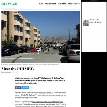 Meet the PHIMBYs