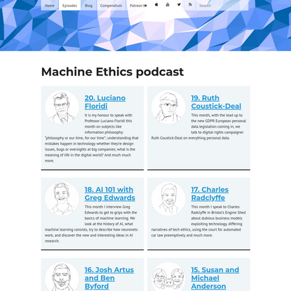 The Machine Ethics Podcast - Episodes