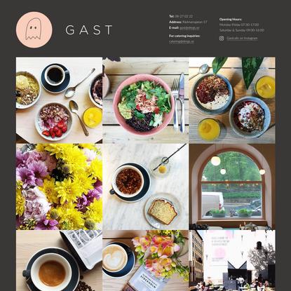Gast Cafe | Café Rådmansgatan - Syskon till Kaffeverket, Snickarbacken 7 och Kvarteret!
