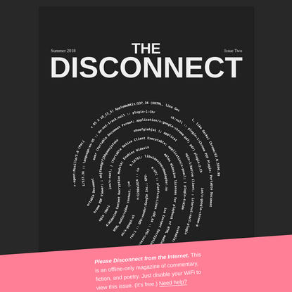 The Disconnect: Issue Two