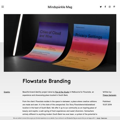 Flowstate Branding - Mindsparkle Mag