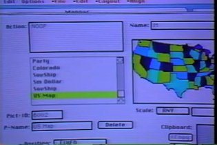 Action!, the worlds first dynamic interface builder - 1988