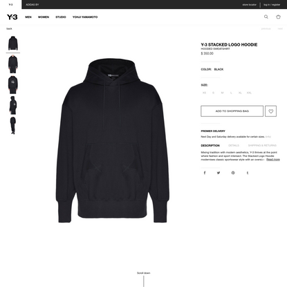 Hooded sweatshirt Men - Sweatshirts Men on Online Store