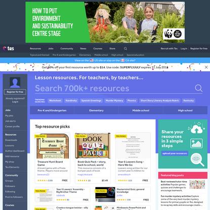 Teaching resources - Tes