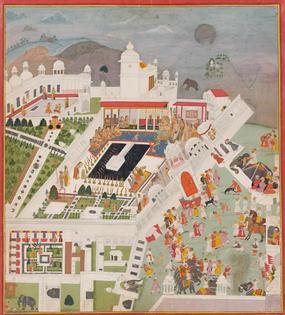 Dewali celebrations at Kotah