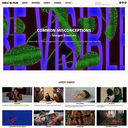 Girls in Film - platform for new generation of women in film